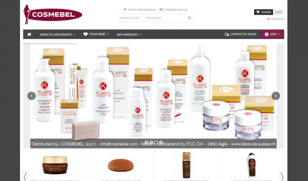 cosmebel-website